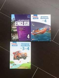 Primary four 4 assessment books Chinese math science English PSLE EPH Marshall revision guide
