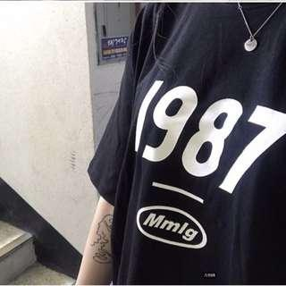 1987 Ulzzang Black Top