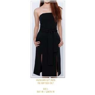 Valria Midi Slit Dress