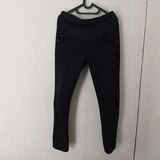Maternity jeans black pants