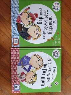 Charlie and Lola Brand New Books