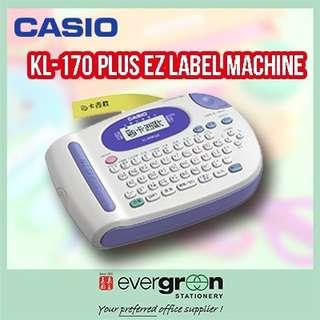 Casio KL170Plus 電子標籤機 6 9 12 18mm label printer not dymo