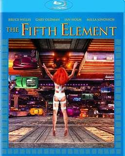 The Fifth Element Blu Ray with Dolby Atmos