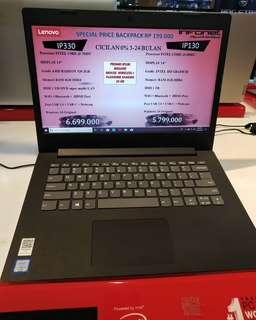 Kredit Laptop Lenovo Core i3 IP130/IP330