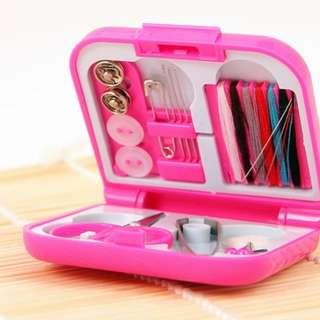 INSTOCK 2@$5 MAILED- Portable Travel Sewing Kit Emergency Light Travelling Sales Clearance Flea
