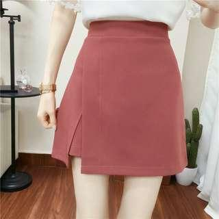 Skorts in plum (Shorts skirt)