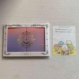 🚚 gfriend time for us umji pop up card