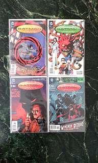Batman Incorporated #1 - #4