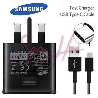 Samsung original Fast charging adaptor and Type-C cable set
