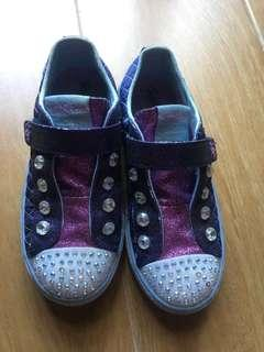 Skechers twinkle toes size US 13.5 or 19.5cm