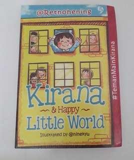 Buku parenting Kirana and little word by retno hening