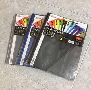 🚚 POPBazic A4 PP Folder (12 per pack)