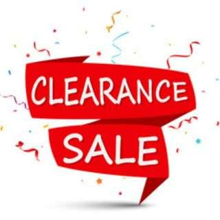 🚚 Clearance Sales Markdown Prices