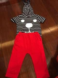 Baby set wear