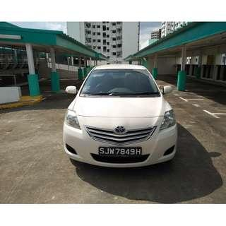 Toyota Vios 1.5A for rent