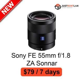 [RENT] Sony FE 55mm f/1.8 ZA Sonnar Lens