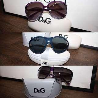 Authentic Dolce and Gabbana sunglasses for sale
