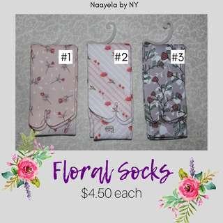 Floral Muslimah Socks