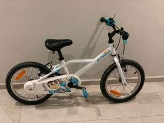 "B'Twin kids 16"" bike"