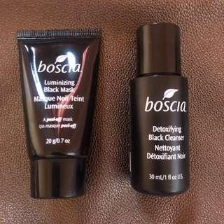 Boscia Cleanser and Mask