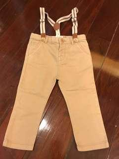 ZARA baby pants with strap