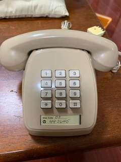 Old Vintage Push Button Telephone