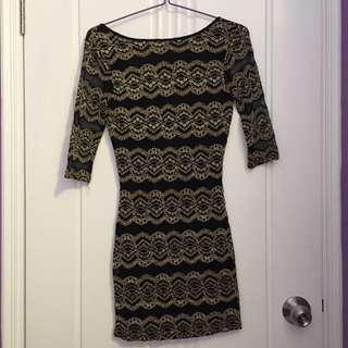 River Island - Pattern Bodycon Dress