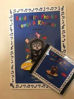🚚 Read with Phonics Book & CD