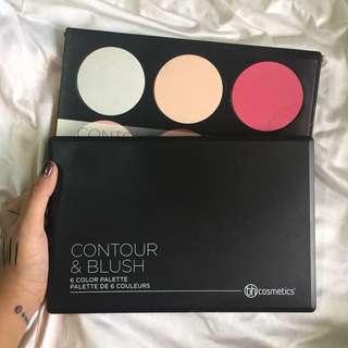 BH Cosmetics Blush and Contour Palette