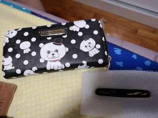Rebecca BonBon with Woohoo limited edition wallet