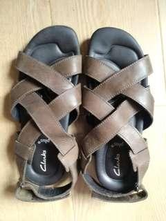 UK Clarks plug* 男裝涼鞋