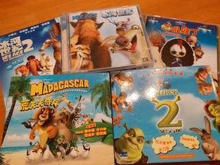CD DVD $10個 買4送1 可議價