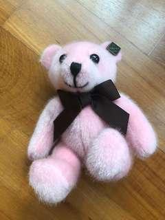 Brand New Pink Bear Keychain