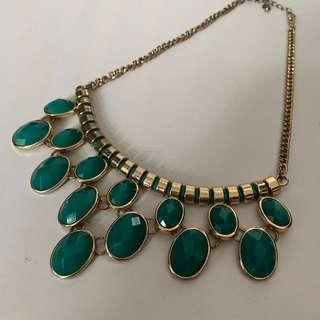 Green Emerald Necklace #SparkJoyChallenge