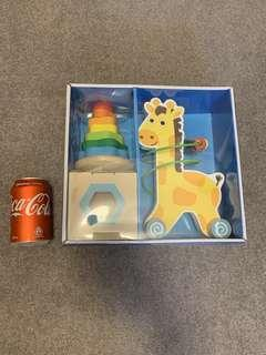 Wooden Toy Trio - Universe of Imagination  益智木製玩具