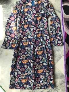 Baju Kurung Cotton English