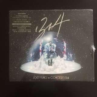 (全新未開封)1314容祖兒演唱會JoeyYung in CONCERT1314 特製限量版DVD