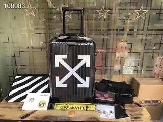 Luggage Black Rimowa x Off-White