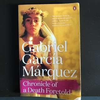 🚚 Chronicles of a Death Foretold by Gabriel Garcia Marquez Annotated Version