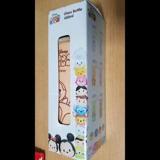 🚚 Tsum Tsum Chip and Dale Glass Bottle