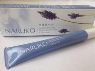 BRAND NEW Naruko Brightening Eye Cream Marjoram and Lavender