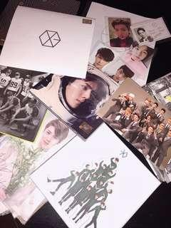 [WTS] EXO Albums + Photocards
