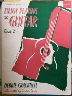Oxford Music for Guitar: Enjoy playing the guitar book 2 by Debbie Cracknell