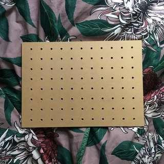 🇯🇵日本購【全新】A4 洞洞板 窿窿裝飾板