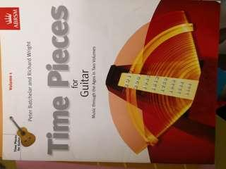 ABRSM: Times pieces for guitar