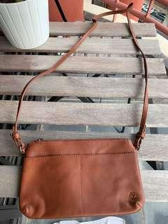 Timber land leather bag