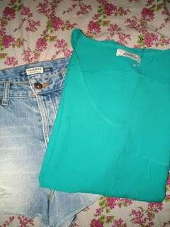 Bundle Pull and Bear top and shorts