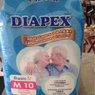 Diapers M size