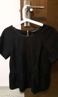 Sacoor Brothers Women Blouse in Black