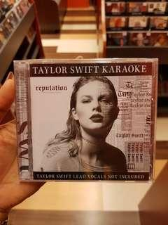[PREORDER] Taylor Swift - Reputation Karaoke CD